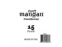 curt mangan 15 Plain Ball End Guitar, Einzelsaite