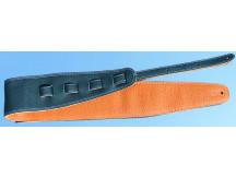 Bull Gitarrengurt 201315, sehr weiches Leder, beidseitig verwendbar, leicht gepolstert