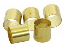 Allparts EP-0220-008 Messinghülse für Potis mit Riffleachse, Preis pro Stück!