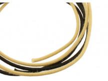 Allparts GW0832, je 1 meter Vintage Style Kabel in schwarz und weiß