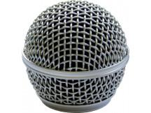 Catfish Mikrofonkorb, mattsilber. Passend für Shure SM58/Beta58 und ähnliche
