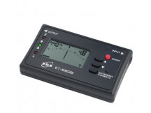 Eno ET68GB Stimmgerät, Chromatic und Gitarre/Bass Mode