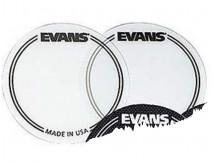 Evans EQ Patch clear EQPC1 (2 Stück rund) für Bassdrumfelle