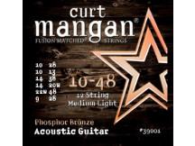 curt mangan 10-48 Phosphor Bronze 12-String Acoustic Guitar