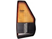 Oscar Schmidt OS150FCE Autoharp mit Flametop und Pickup