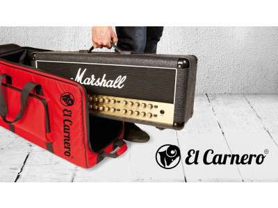 ElCarnero Pico Red, Profibag/-case für Verstärker, mit Rollen, Innenmaße: BxHxT: 75x37x29cm