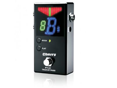 Cherry Music Pedaltuner PT01, Bodenstimmgerät black, mit True Bypass