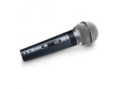 LD-Systems D1001S Gesangsmikrofon dynamisch mit Schalter