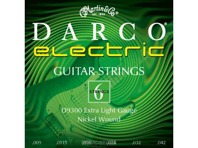 Darco D9300 Light Saiten für E-Gitarre 009-042