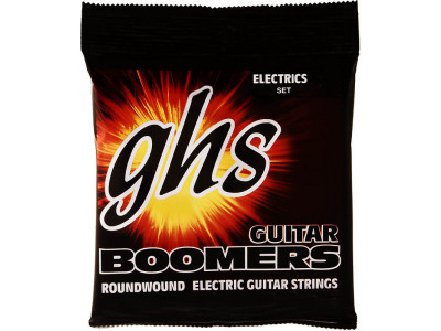 GHS Boomers GB-M 011-050 Medium, Saiten für E-Gitarre, made in USA!