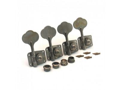 Qparts AG6164060 Aged Collections Mechaniken 4L für P-Bass oder J-Bass, inkl. Schrauben