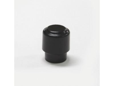 Qparts AG2162400 PTE Aged Collections schwarzer Schalterknopf für TE Modelle, rund