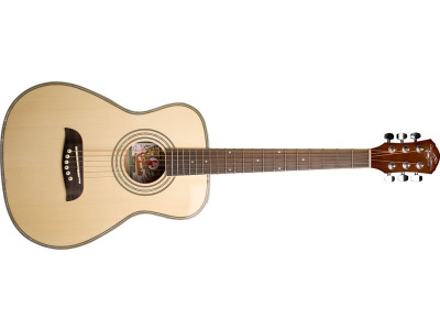 Oscar Schmidt OGHS NT 1/2 size Dreadnought, natural
