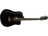 Oscar Schmidt OD312CEBK 12-string Black