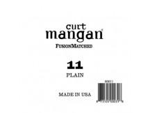 curt mangan 11 Plain Ball End Guitar, Einzelsaite