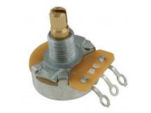 Allparts EP0085-000 CTS-A250S, Potentiometer (Poti), 250K-Ohm logarithmisch, kurze Achse, für 10mm Bohrung