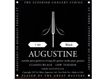 Augustine Black Low Tension A4 Einzelsaiten für Konzert Gitarre