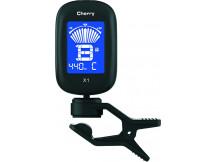 Cherry Music Cliptuner X1, Stimmgerät zum Anstecken, schwarz