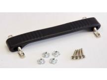Dogbone Griff für Fender®, schwarzer Gummigriff