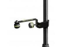 Gravity MAMH01 Schiene für ein Mikrofon, black, zum anschrauben an ein Stativ