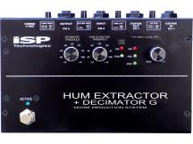 ISP Hum Extractor + Decimator G, 'Hum Canceling and Decimator X Technology
