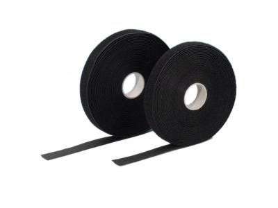 Adam Hall 5811 BK Klettband Haken und Flausch, selbstklebend 20mm breit. Preis pro Meter!
