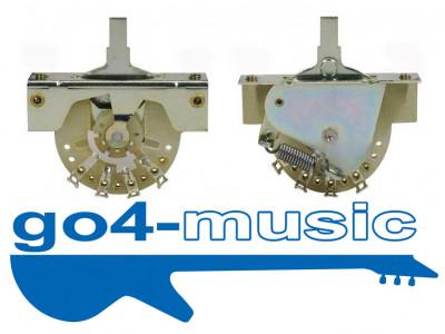 Hosco DM-30 3-weg Schalter, inkl. Schalterknopf