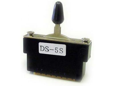 Hosco DS5S 5-weg Schalter für Spezialschaltungen, inkl. Schrauben und Schalterknopf
