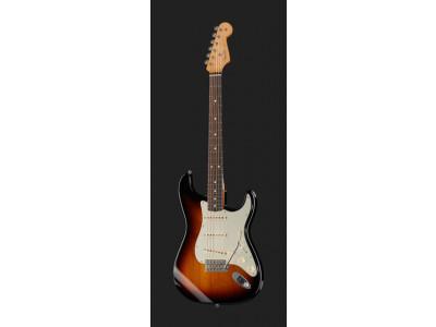 Fender Classic Series 60 Stratocaster RW 3-Tone-Sunburst, inkl. Gigbag