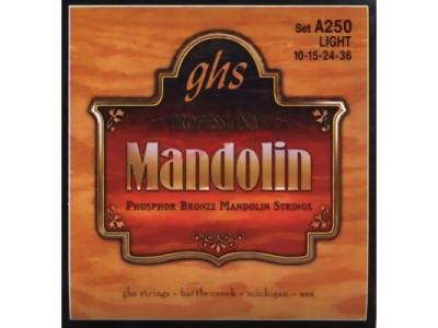 GHS A250 Saiten für Mandoline, Phosphor Bronze 010-015-024-036