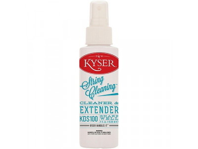 Kyser Dr. Stringfellow String Cleaner, 120ml Sprühflasche