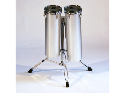 """LH Drums Octobans Alu 20""""x6"""" + 22""""x6"""", inkl. Ständer, doppelstrebig"""