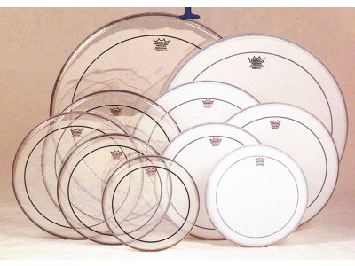 """Remo Pinstripe 16"""" clear, Tom-Tomfell PS-0316-00"""