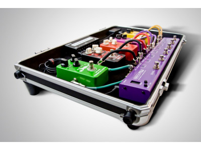 Joyo Technology RD3 Flight Case mit integriertem Pedalboard