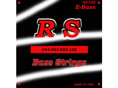 RS Guitar Parts 45105 Saiten für E-Bass 045-105 light, made in USA!