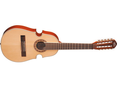Oscar Schmidt OQ40S-NT Cuatro Latin Guitar, inkl. Gigbag