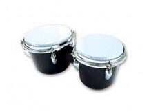 LH Drums BO1BK Bongos, ABS, black