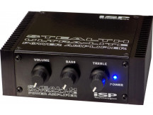 ISP Stealth Ultra-Lite Power Amp mit Preamp, 90W/4ohm, inkl. Netzteil