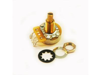 CTS-A500, Potentiometer (Poti), 500K-Ohm logarithmisch, normale Achse, für 10mm Bohrung