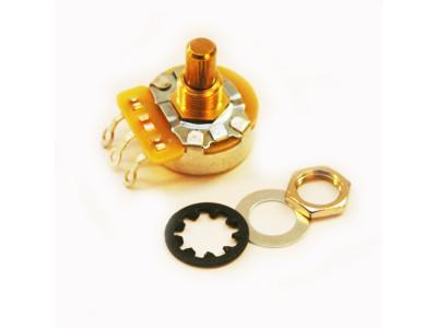 CTS-A1M-SS, Potentiometer (Poti), 1MEG-Ohm logarithmisch, kurze glatte Achse, für 10mm Bohrung