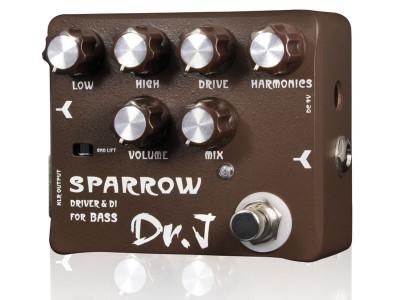 Dr J D53 Sparrow Driver & DI für Bass und Akustikgitarre