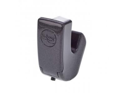 E-Bow Plus, erzeugt ein Magnetfeld, wodurch die Saite endlos zum Schwingen gebracht wird.