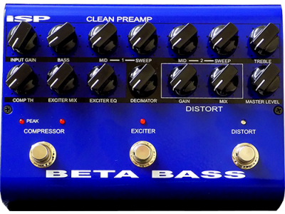 ISP Beta Bass Preamp Pedal