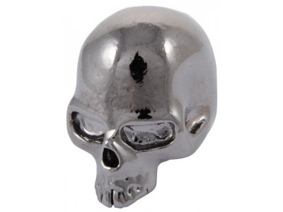 Qparts Potiknopf Skull 2, black chrome, face up