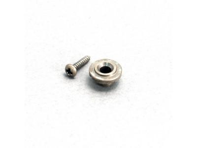 Qparts AG2161660 SSRSNi Aged Collections Saitenniederhalter (Stringtree) rund, für 50er TE und ST Modelle
