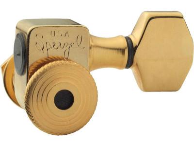 Sperzel Trim-Lock TL-SGD, 6L Mechaniken, satin gold
