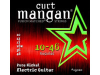 curt mangan 10-46 Pure Nickel Wound Set Guitar