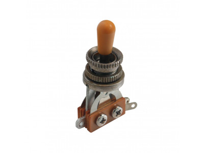 Qparts Aged Collections BTG-Ni-IV Toggle Switch, 3-weg/2-polig für 2 Pickups