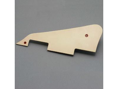 Qparts WLP506 Aged Collections Pickguard creme, für LP Modelle, 1-schichtig, inkl. Montageschrauben