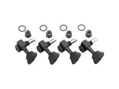 Sperzel Trim-Lock Bass, B-TL BK 2l/2r, Mechaniken, black